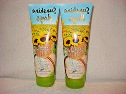2 Bath & Body Works Sunshine Days Bright Sunflowers Body Cre