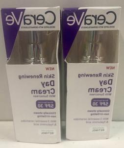 2  x CeraVe Skin Renewing Day Cream - Retinol Cream
