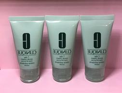 3 x CLINIQUE 7 DAY SCRUB CREAM RINSE-OFF FORMULA 1 oz/ 30 ml