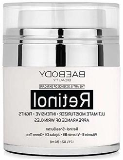 Baebody Retinol Moisturizer Cream for Face and Eye Area Best