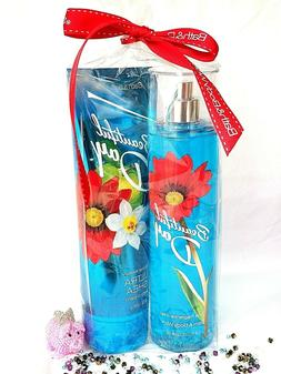 "Bath & Body Works ""BEAUTIFUL DAY"" lotion, shower gel, mist &"