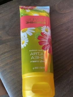 Bath & Body Works, Love and Sunshine, Ultra Shea Body Cream