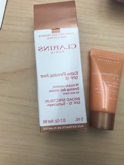 Clarins Extra-Firming Jour Day Cream SPF 15 .1 oz New in Box