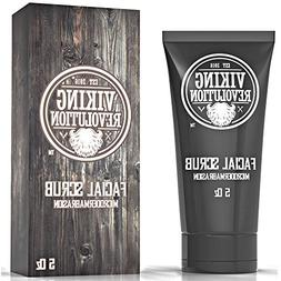 VIKING REVOLUTION Microdermabrasion Face Scrub for Men - Fac