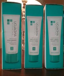 assorted products day or night cream firming