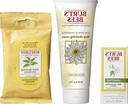 Burt's Bees Basic Face Care Kit, 3 Skin Care Products - Clea