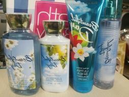 BATH AND BODY WORKS BEAUTIFUL DAY COLLECTION  4 PC SET