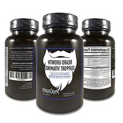 Beard Growth Support Vitamins- Grow a longer, fuller, thicke
