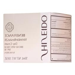 SHISEIDO BENEFIANCE WrinkleResist24 Day Cream BROAD SPECTRUM