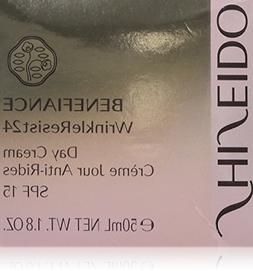Shiseido Benefiance Wrinkleresist24 Day Cream SPF 15 for Uni