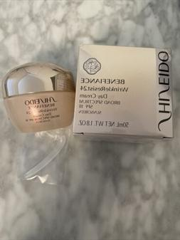 Shiseido Benefiance Wrinkleresist24 Day Cream SPF 18 BNIB 1.