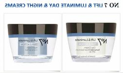 Boots No 7 Lift + Luminate Triple Action Day Cream/Night SPF