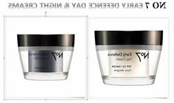 No7 Early Defence Day w/SPF 30 / Night Cream