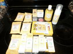 Burts Bees 16 Piece Lot Tips Toes Kit Eye Cream Day Lotion H