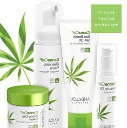 Andalou Naturals CannaCell Skin Care Collection