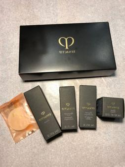 cle de peau synactif gift set cream lotion soap moisturizer
