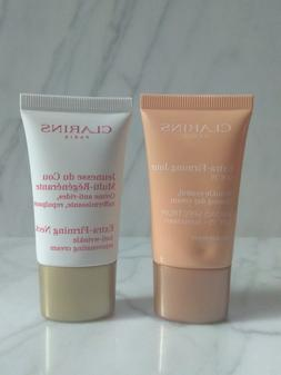 CLARINS Extra Firming Neck Cream + Day Cream SPF15 for face
