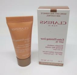 Clarins Extra Firming Wrinkle Control Day Cream SPF 15 Trave