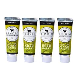 Dionis Goat Milk Hand Cream 4 Piece Travel Gift Set - Crisp