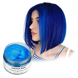 Vakker Hair Wax Color Styling Cream Mud, Natural Hairstyle D