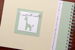Baby Memory Book by Charmbooks | Personalized Giraffe Baby J