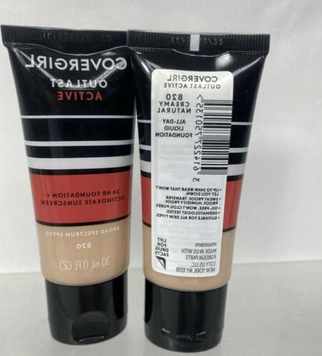 Covergirl Natural Outlast hr Day Foundation