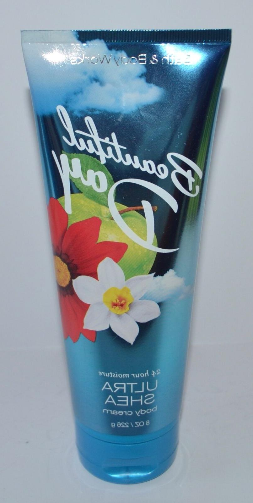 3 BATH & BODY WORKS BEAUTIFUL DAY ULTRA SHEA BODY CREAM LOTI
