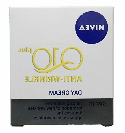 50ml  Nivea Visage Q10 Plus Creatine Anti Wrinkle Day Cream