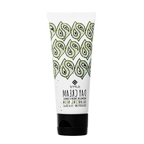 Alaffia Neem Balancing Cream, Support Hydrate, and Protect Skin Shea Butter, and Trade, Balancing Ounces