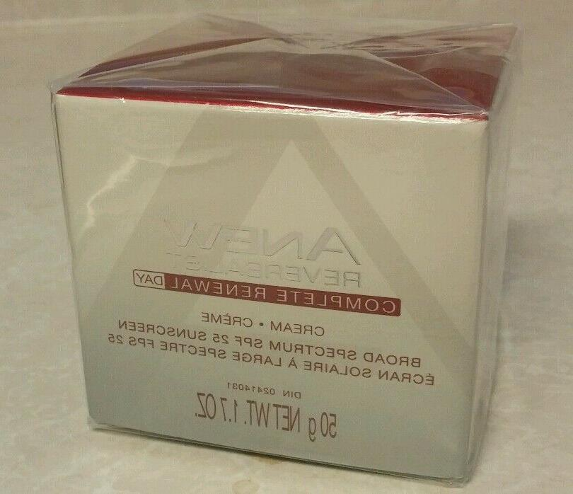 Avon Anew Reversalist Day Renewal Cream SPF 25 Full Size 1.7