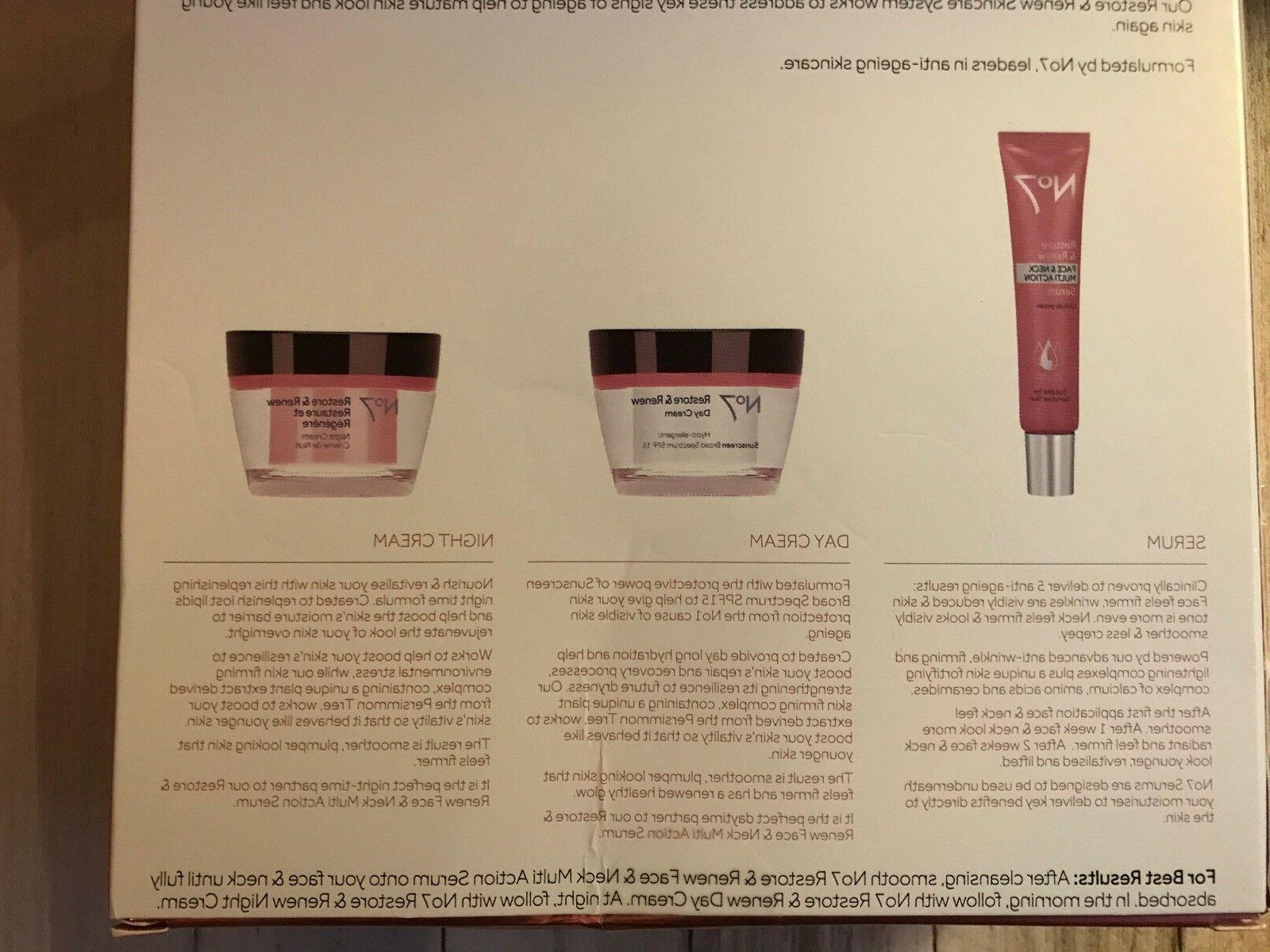 Boots Restore Renew Face Action Skincare System Day Cream