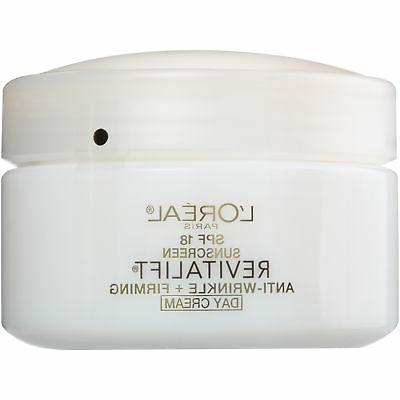 L'Oréal Paris Revitalift Anti-Wrinkle + Firming Day Cream S