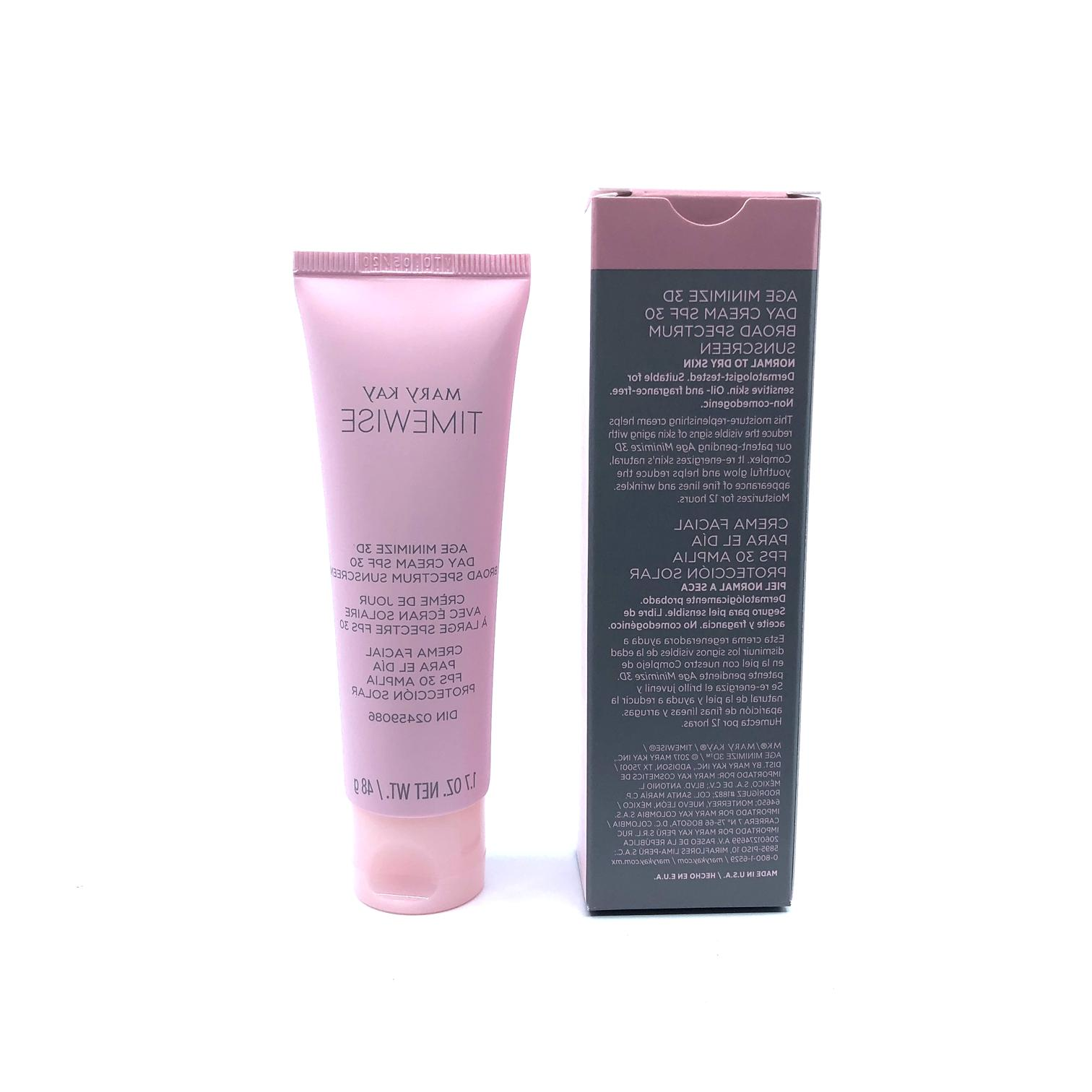 Mary Kay 3D TimeWise Age Minimize -Day Cream SPF 30- Normal/