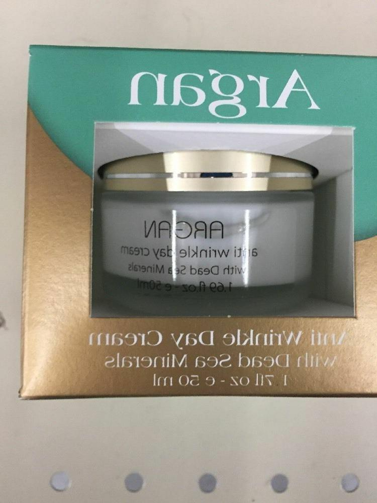 Set Dead Sea Collection Argan Anti Wrinkle Day Cream & Anti