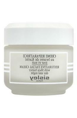 Sisley Restorative Facial Cream with Shea Butter Day and Nig