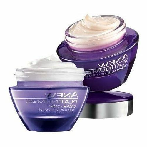Avon ANEW Platinum Cream 25 Night 2 Piece Set IN