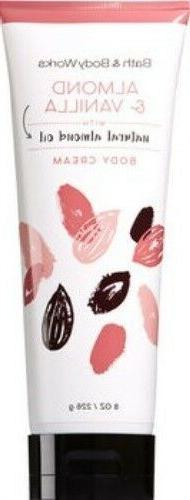 bath and body works almond and vanilla