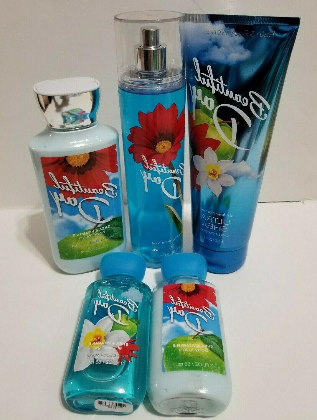 bath and body works beautiful day mist