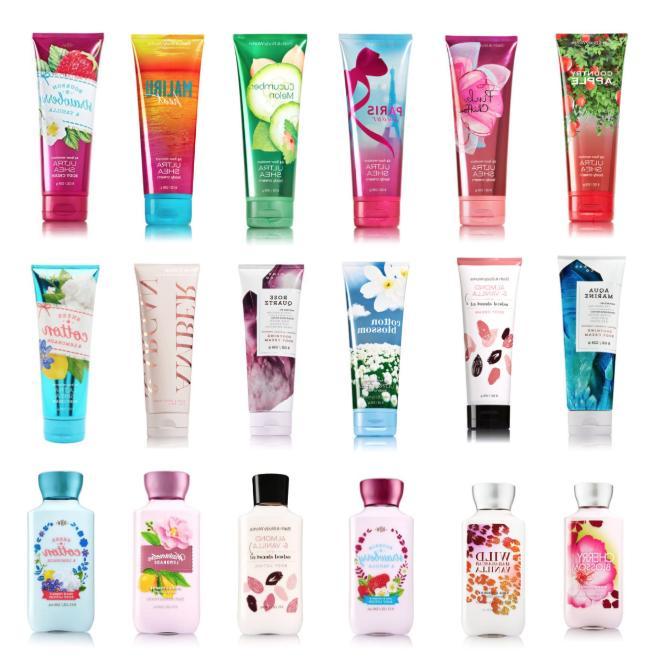BATH LOTIONS CREAMS FULL SIZE OZ BIG SELECTION