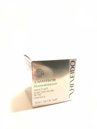 Shiseido Benefiance WrinkleResist24 Cream 18 oz
