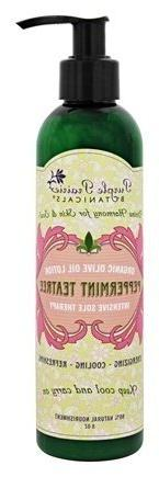 Peppermint Teatree Organic Olive Oil Lotion 8oz