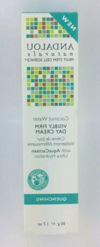 Andalou Naturals  Coconut Water Visibly Firm Day Cream  Quen