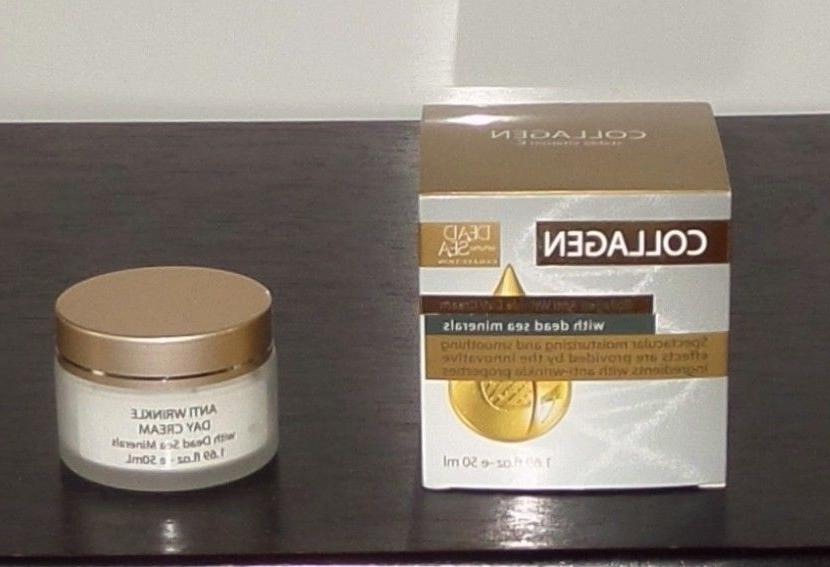Dead Sea Collection Collagen Anti Wrinkle Day Cream Dead Sea