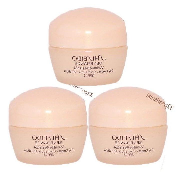 lot of three benefiance wrinkle resist day