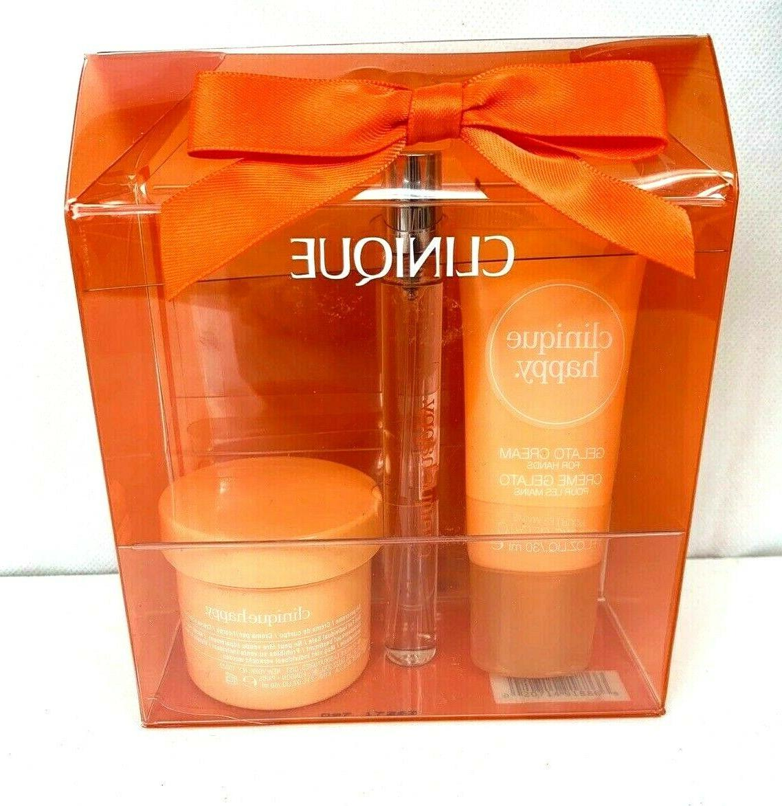 Mothers Day Clinique Set/ Spray/Hand Body New Box,