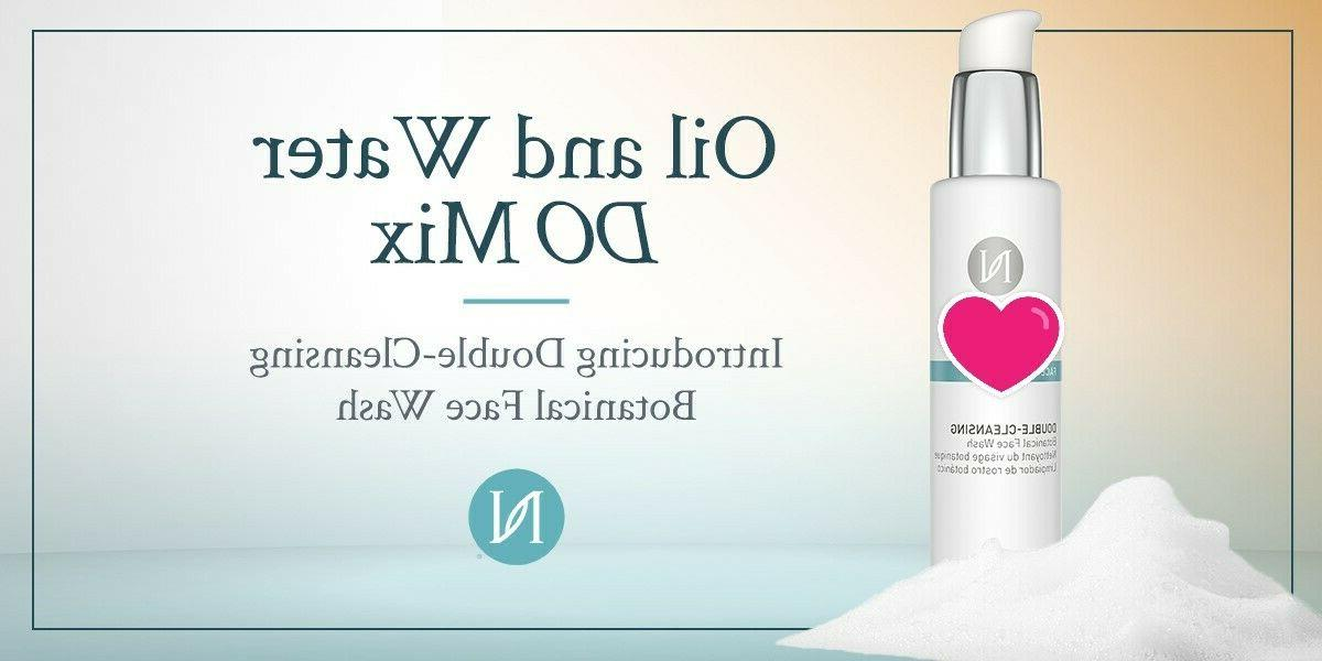 nerium age iq double cleansing botanical face