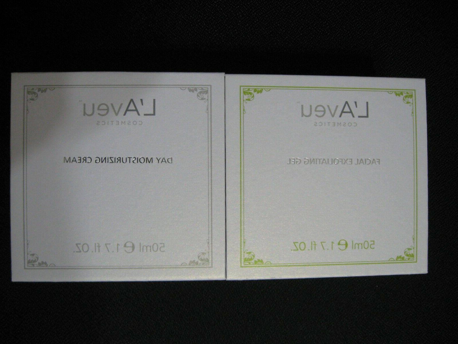 new laveu cosmetics skin care facial exfoliating