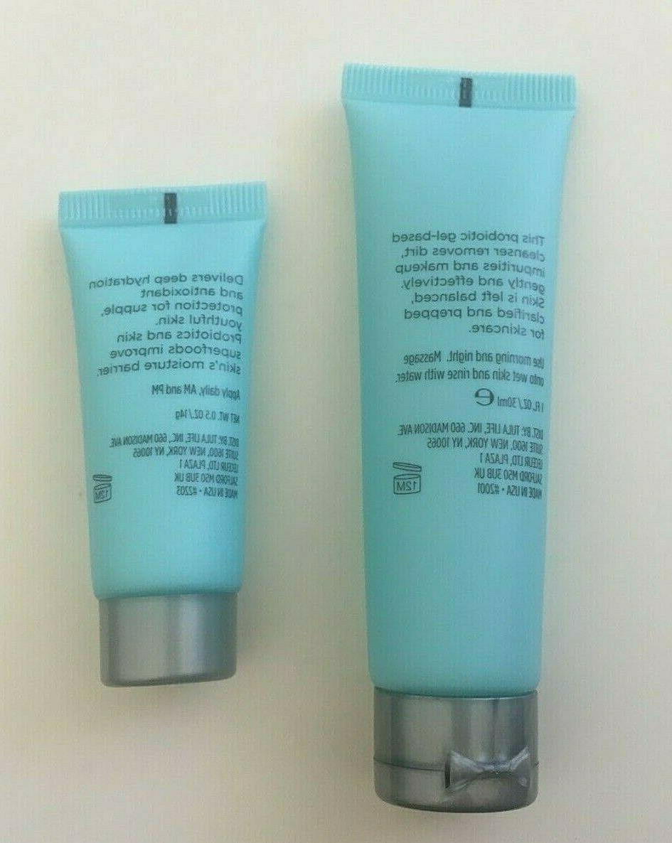 Set Day Night Cream and Cleanser Travel Size