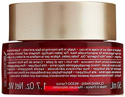 Clarins Super Restorative Day Cream Skin Types for 1.7 Ounce