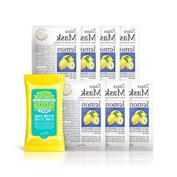 Ariul Natural Lemon Sheet Mask for Oily Skin, Brightening &
